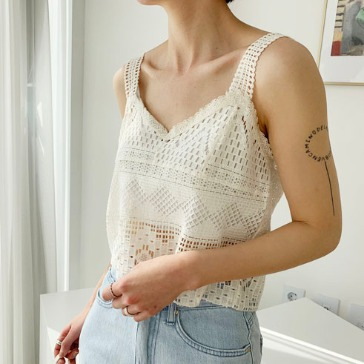 bustier sleeve (ivory)
